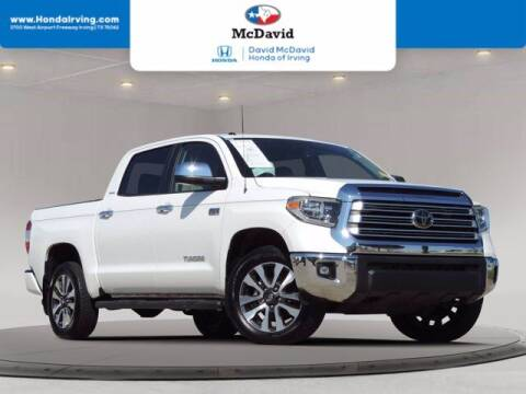 2018 Toyota Tundra for sale at DAVID McDAVID HONDA OF IRVING in Irving TX