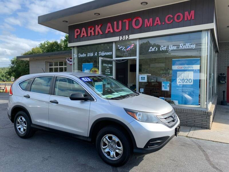2012 Honda CR-V for sale at Park Auto LLC in Palmer MA