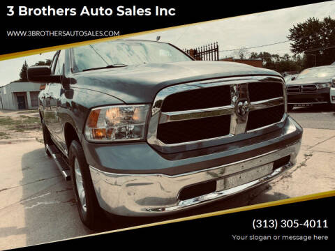 2013 RAM Ram Pickup 1500 for sale at 3 Brothers Auto Sales Inc in Detroit MI