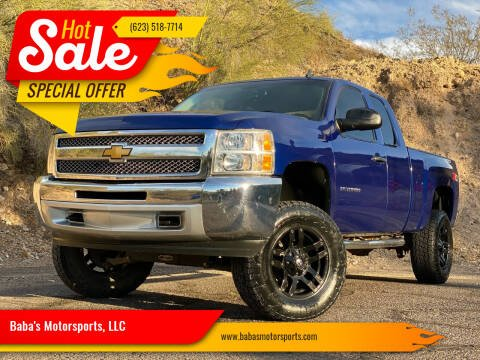 2013 Chevrolet Silverado 1500 for sale at Baba's Motorsports, LLC in Phoenix AZ