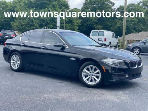 2014 BMW 5 Series for sale at Town Square Motors in Lawrenceville GA