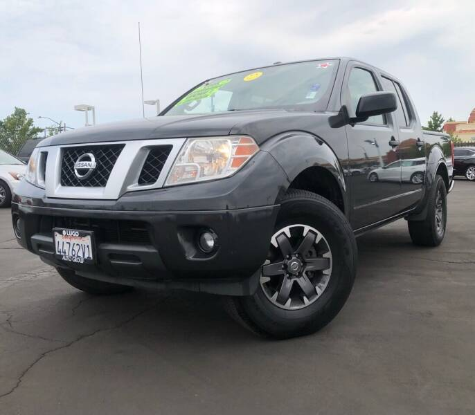 2015 Nissan Frontier for sale at LUGO AUTO GROUP in Sacramento CA