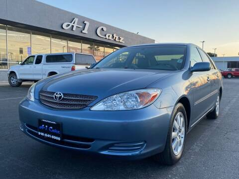 2002 Toyota Camry for sale at A1 Carz, Inc in Sacramento CA