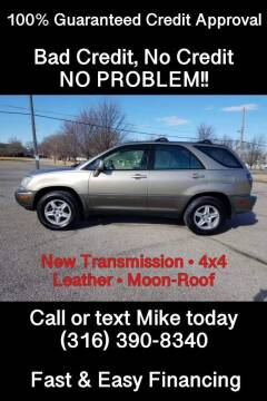 2003 Lexus RX 300 for sale at Affordable Mobility Solutions, LLC in Wichita KS