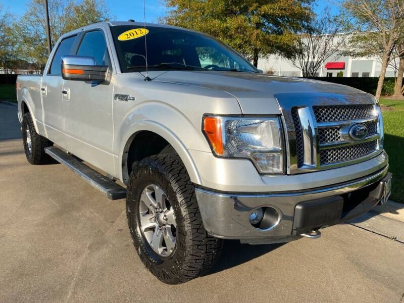 2012 Ford F-150 for sale at UNITED AUTO WHOLESALERS LLC in Portsmouth VA