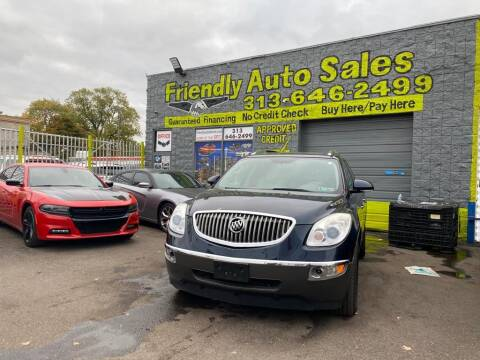 2008 Buick Enclave for sale at Friendly Auto Sales in Detroit MI