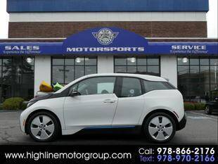 2015 BMW i3 for sale at Highline Group Motorsports in Lowell MA