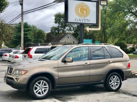 2005 BMW X5 for sale at Gaven Auto Group in Kenvil NJ
