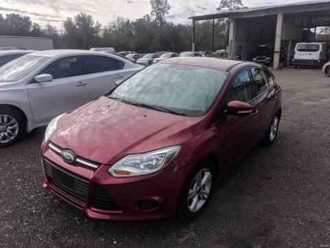 2014 Ford Focus for sale at Ebert Auto Sales in Valdosta GA