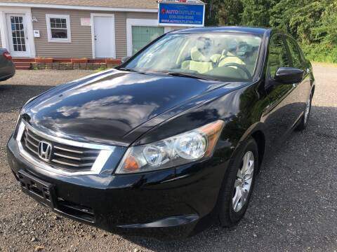 2010 Honda Accord for sale at AUTO OUTLET in Taunton MA