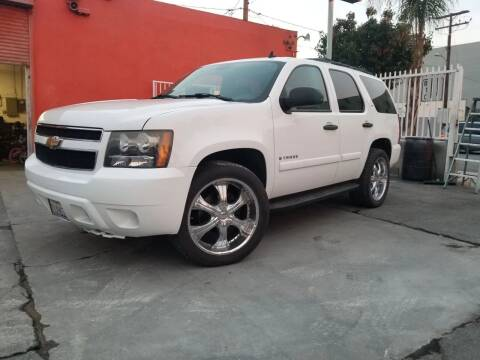 2008 Chevrolet Tahoe for sale at GENERATION 1 MOTORSPORTS #1 in Los Angeles CA