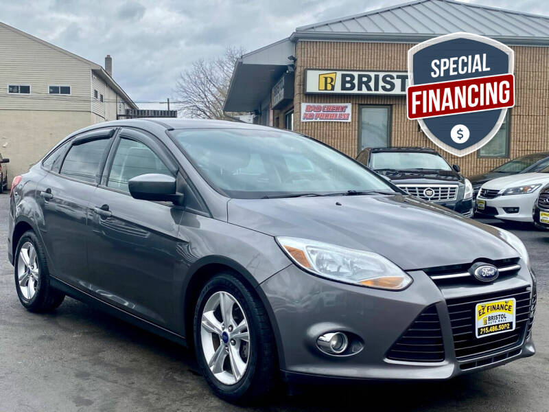 2012 Ford Focus for sale at Bristol Auto Mall in Levittown PA