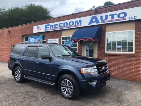 2017 Ford Expedition for sale at FREEDOM AUTO LLC in Wilkesboro NC