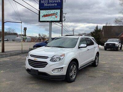 2017 Chevrolet Equinox for sale at Mill Street Motors in Worcester MA