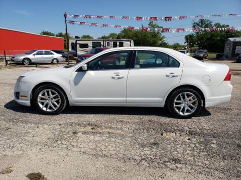 2010 Ford Fusion for sale at Collins Auto Sales in Waco TX