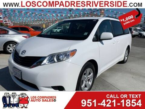 2014 Toyota Sienna for sale at Los Compadres Auto Sales in Riverside CA