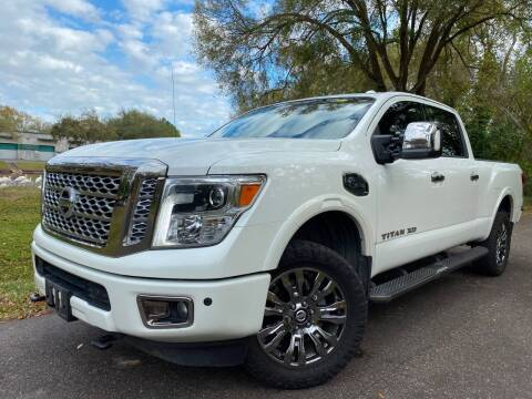 2016 Nissan Titan XD for sale at Powerhouse Automotive in Tampa FL