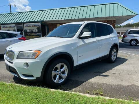 2011 BMW X3 for sale at Main Street Auto LLC in King NC