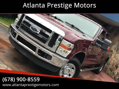 2008 Ford F-250 Super Duty for sale at Atlanta Prestige Motors in Decatur GA