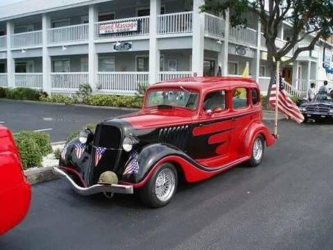 1934 Hudson Terraplane for sale at Classic Car Deals in Cadillac MI
