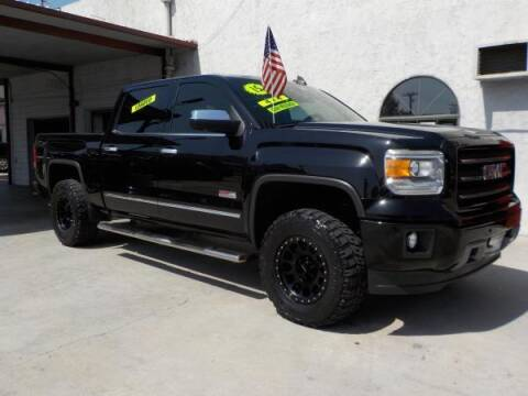 2015 GMC Sierra 1500 for sale at Bell's Auto Sales in Corona CA