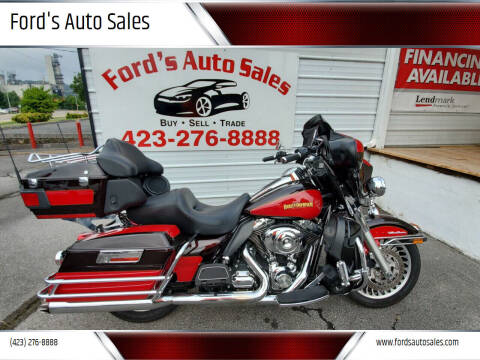 2010 HarleyDavidson FLHTCU for sale at Ford's Auto Sales in Kingsport TN