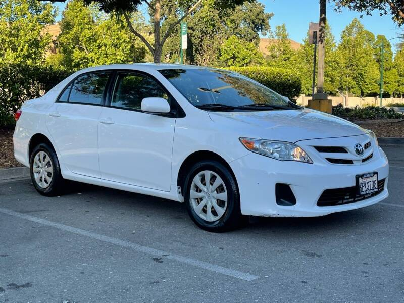 2011 Toyota Corolla for sale at CARFORNIA SOLUTIONS in Hayward CA