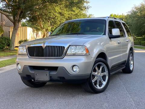 2003 Lincoln Aviator for sale at Presidents Cars LLC in Orlando FL