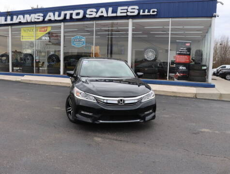 2017 Honda Accord for sale at Williams Auto Sales, LLC in Cookeville TN