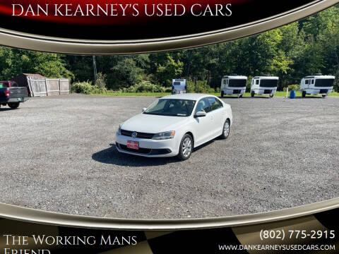 2014 Volkswagen Jetta for sale at DAN KEARNEY'S USED CARS in Center Rutland VT