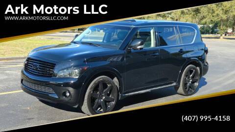 2011 Infiniti QX56 for sale at Ark Motors LLC in Winter Springs FL