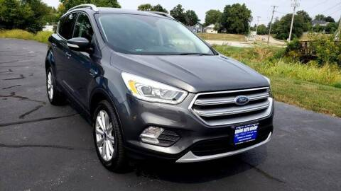 2017 Ford Escape for sale at Crowe Auto Group in Kewanee IL