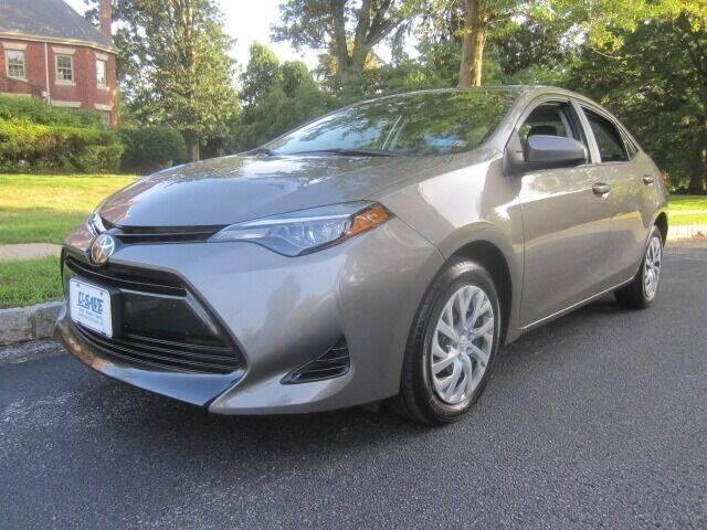 2018 Toyota Corolla for sale at CARSTORE OF GLENSIDE in Glenside PA