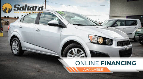 2015 Chevrolet Sonic for sale at Sahara Pre-Owned Center in Phoenix AZ