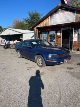2007 Ford Mustang for sale at LEE AUTO SALES in McAlester OK