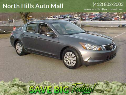 2008 Honda Accord for sale at North Hills Auto Mall in Pittsburgh PA