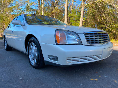 2002 Cadillac DeVille for sale at ELAN AUTOMOTIVE GROUP in Buford GA