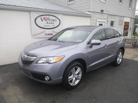 2013 Acura RDX for sale at VICTORY AUTO in Lewistown PA