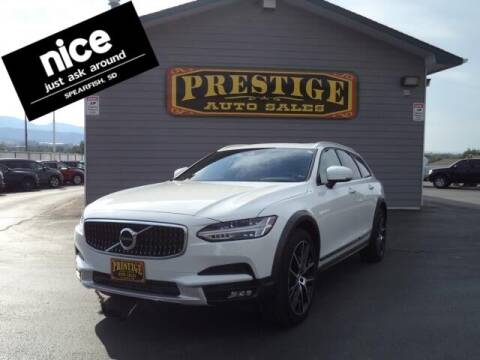 2020 Volvo V90 Cross Country for sale at PRESTIGE AUTO SALES in Spearfish SD