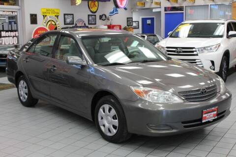 2004 Toyota Camry for sale at Windy City Motors in Chicago IL