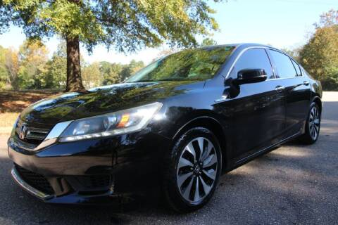 2015 Honda Accord Hybrid for sale at Oak City Motors in Garner NC