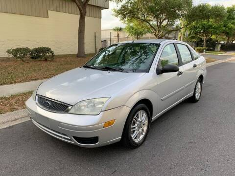 2005 Ford Focus for sale at Presidents Cars LLC in Orlando FL