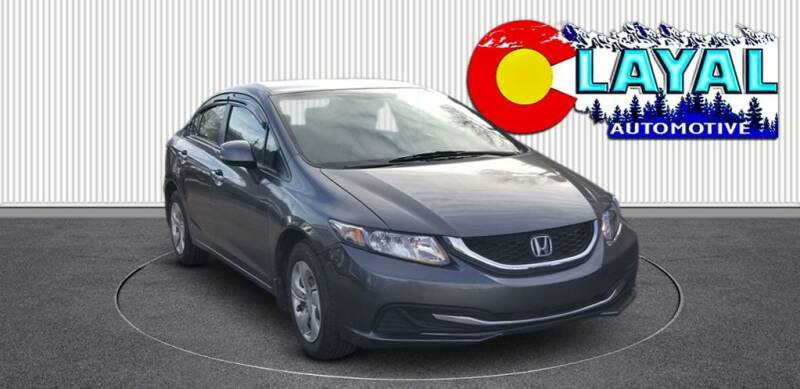 2013 Honda Civic for sale at Layal Automotive in Englewood CO