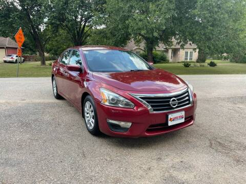 2013 Nissan Altima for sale at CARWIN MOTORS in Katy TX