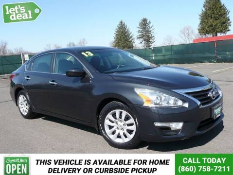 2013 Nissan Altima for sale at Shamrock Motors in East Windsor CT
