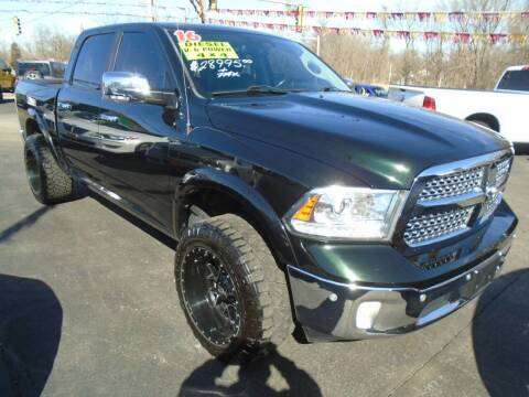2016 RAM Ram Pickup 1500 for sale at River City Auto Sales in Cottage Hills IL