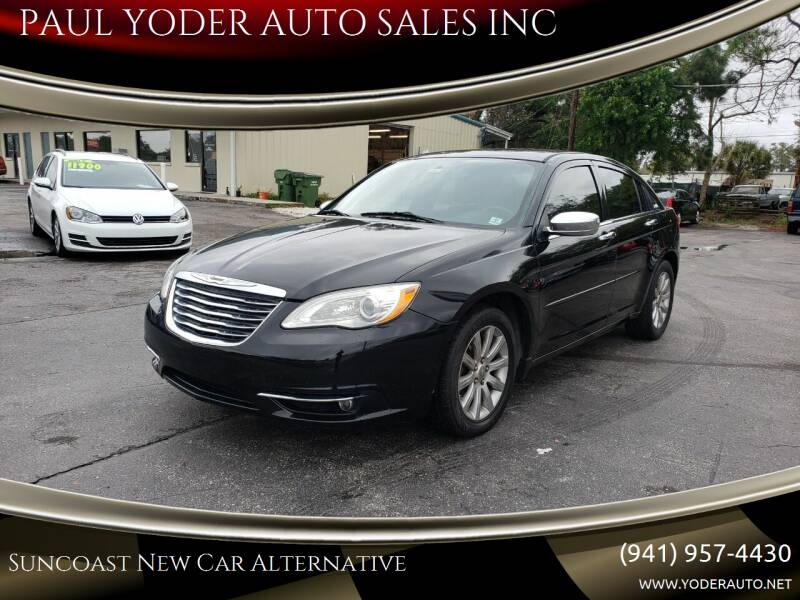2015 Chrysler 200 for sale at PAUL YODER AUTO SALES INC in Sarasota FL
