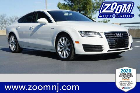 2012 Audi A7 for sale at Zoom Auto Group in Parsippany NJ