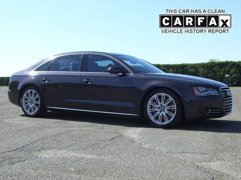 2012 Audi A8 L for sale at Atlantic Car Company in East Windsor CT