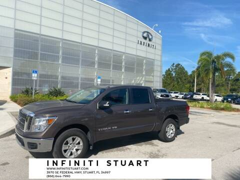 2018 Nissan Titan for sale at Infiniti Stuart in Stuart FL